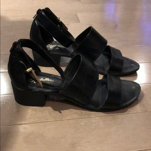 Seychelles block sandals